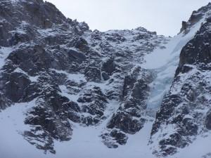 Fil à plomb : La ligne de glace en plein milieu