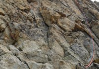 Océan de granit rouge