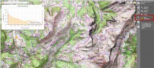 Geoportail Profil altimetrique